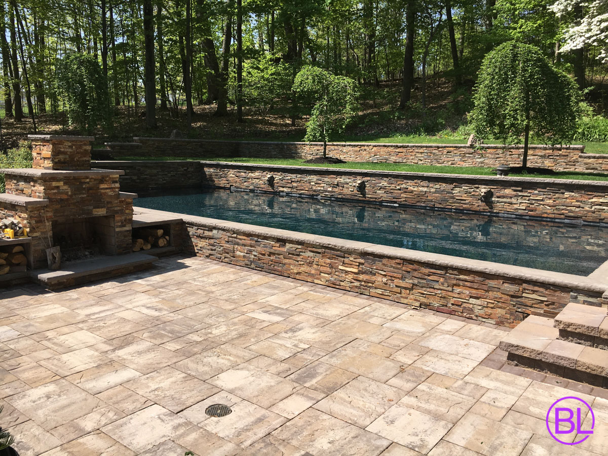 Pool patio rochester ny walkway installation syracuse for Pool design rochester ny