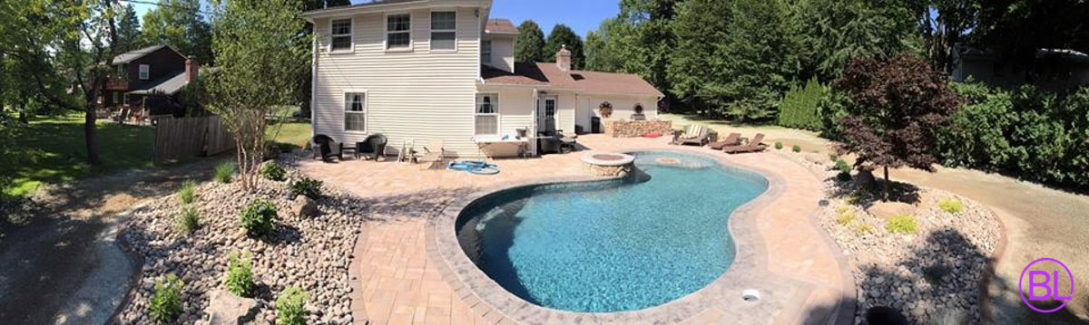 inground pool builders rochester ny pool designs buffalo