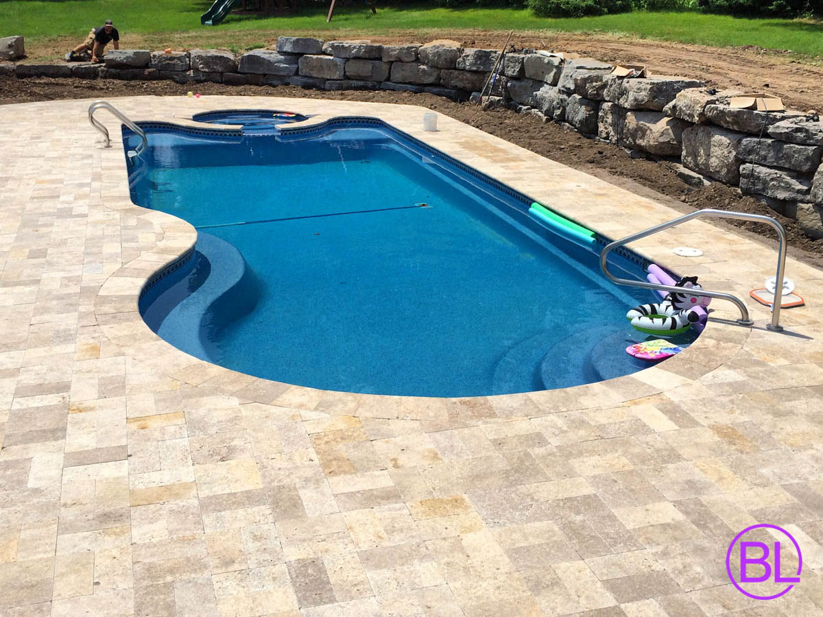 Paver installation rochester ny veneer stone ideas for Pool design rochester ny