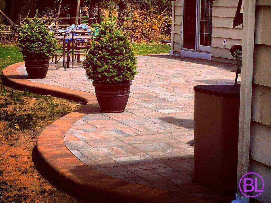 Brick S Landscape Patio Design Walkway Pavers