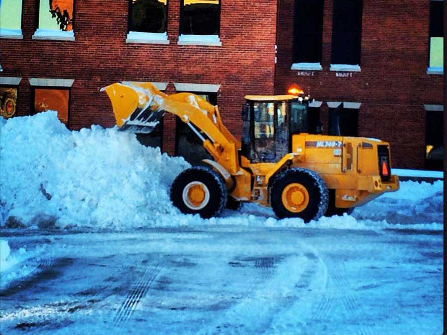 Snow Plowing In Rochester NY