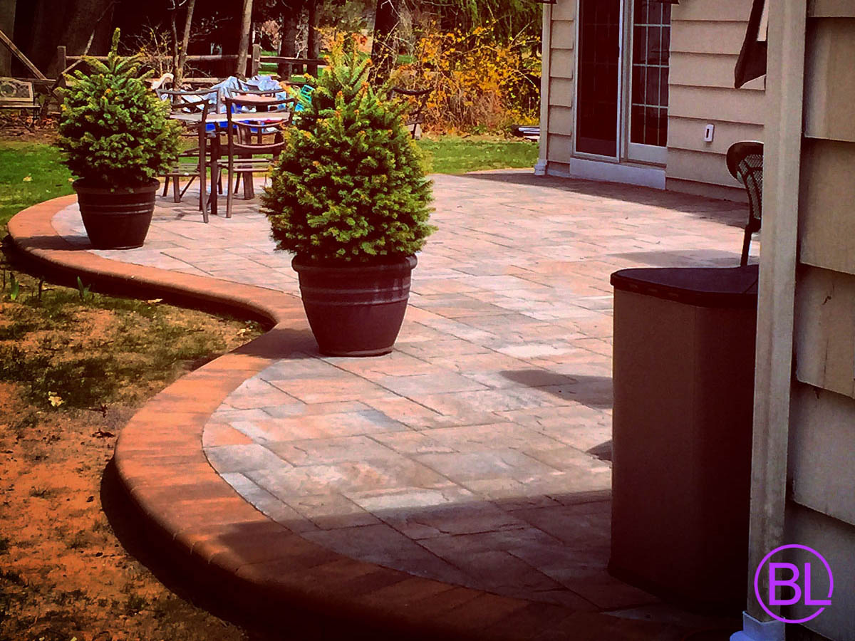 Paver Installation Rochester NY, Veneer Stone Ideas ... on Brick Paver Patio Designs id=34561