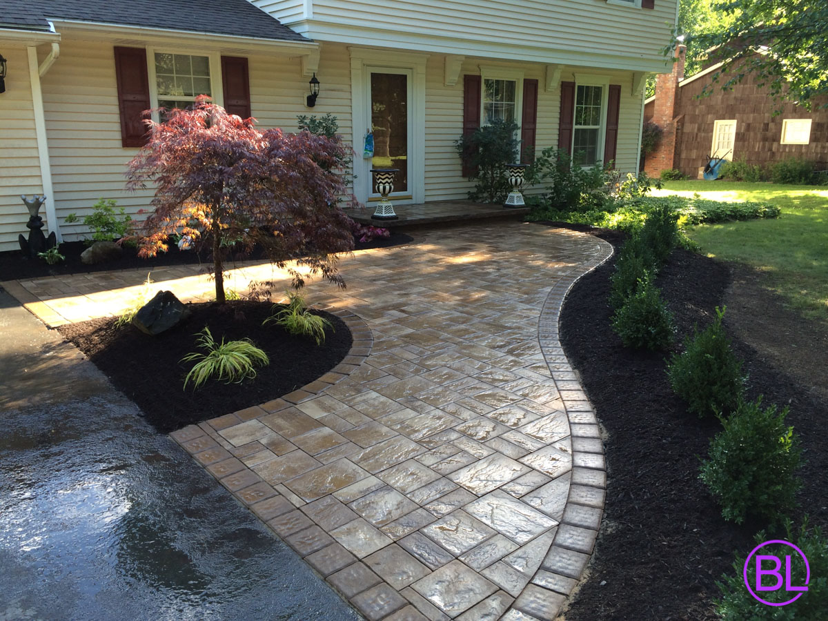 Paver Walkways And Sidewalks Installers Rochester