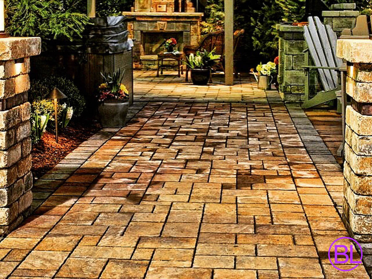 Patio Walkway Designs Rochester