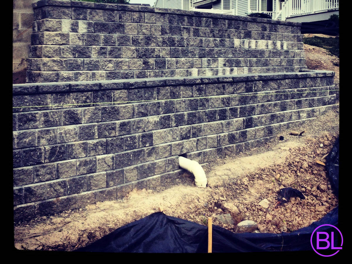 Retaining Wall Installation Webster