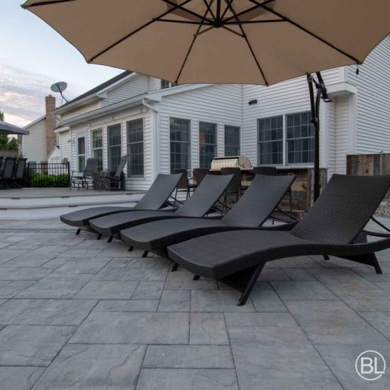 Large Patio Surface in Sun