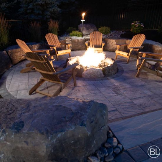 Light Integrated Tiki Torches